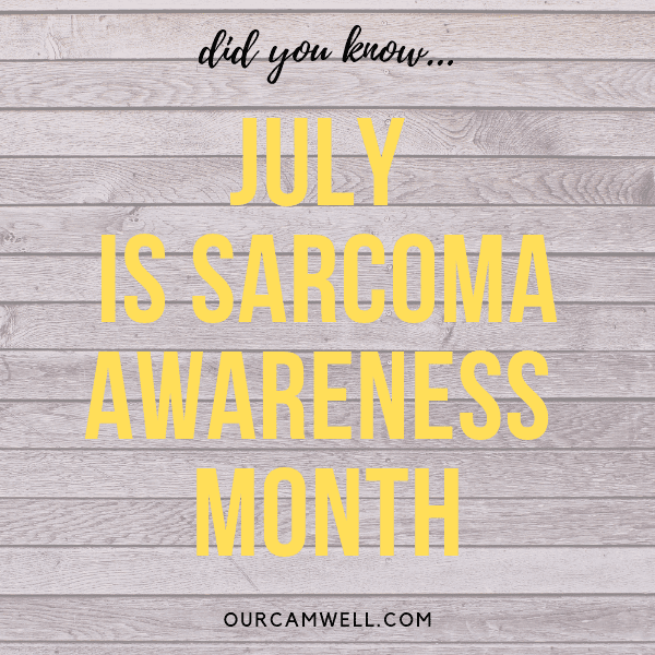 July is Sarcoma Awareness Month: Yellow Ribbons & Giving Back to the Cancer Community